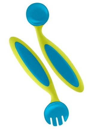 Boon Benders Adaptable Utensils - Blue/Green