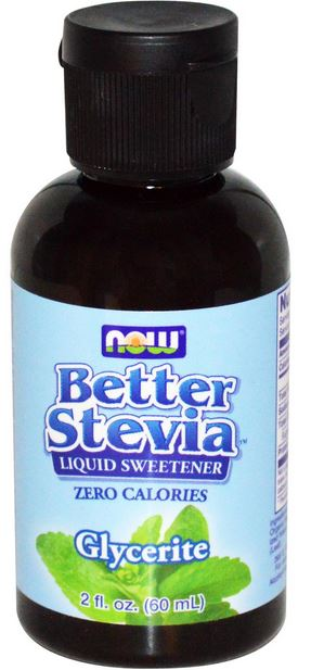 Now Foods Better Stevia Liquid Sweetener Glycerite (2 fl. oz. 60mL)