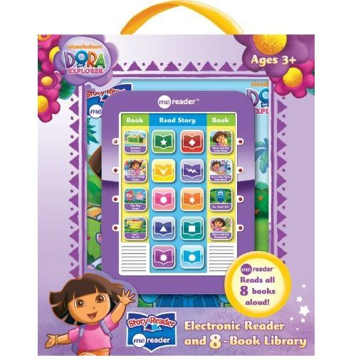 Pillbooks  Dora the Explorer Electronic Reader and 8-Book Library
