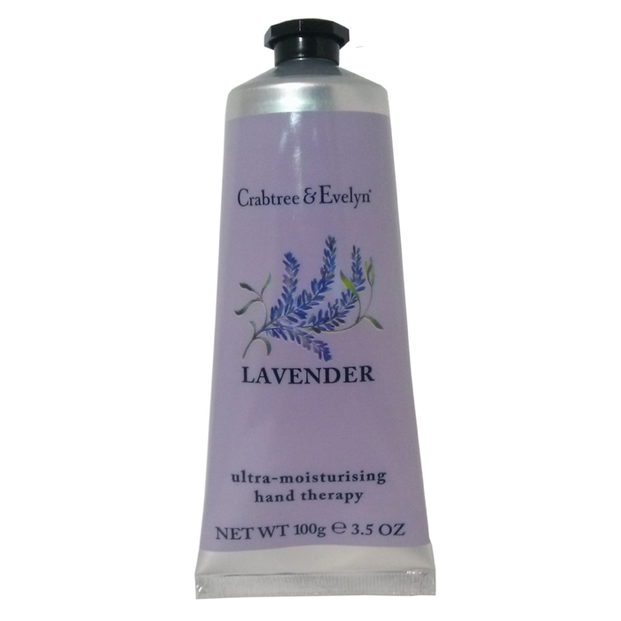 CRABTREE and EVELYN Ultra-Moisturising Hand Therapy: LAVENDER (100g, 3.5 oz)