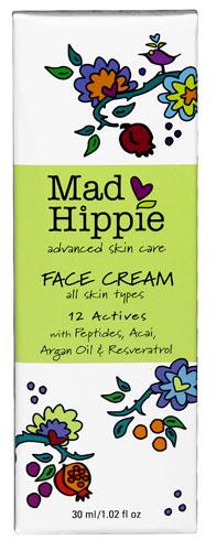Mad Hippie FACE CREAM, All Skin Types (30 ml, 1.02 fl oz)