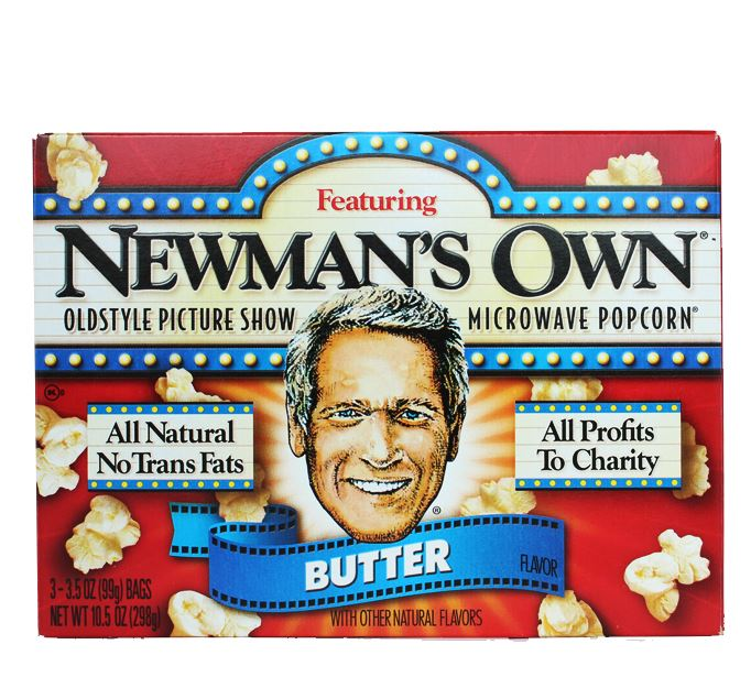 NEWMANS OWN All Natural Popcorn Butter (3.5 oz,3pack)