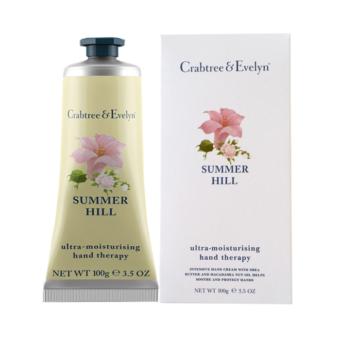 CRABTREE and EVELYN Hand Therapy: SUMMER HILL (100g, 3.5 oz)
