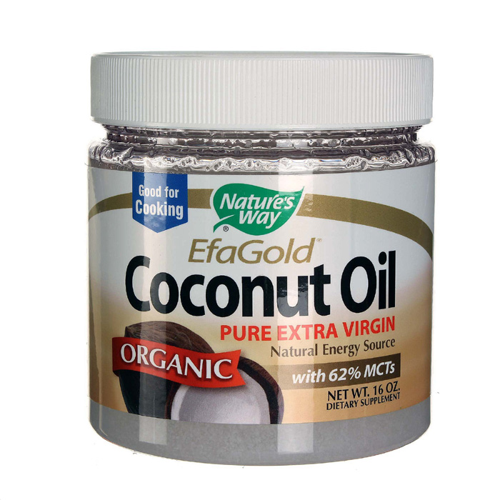 Nature's Way Coconut Oil: Organic (16 oz)