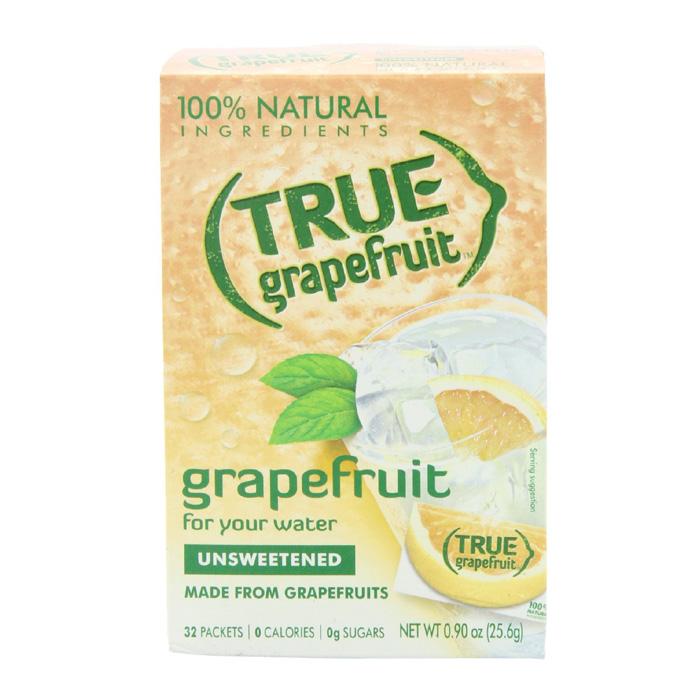 True Grapefruit: Grapefruit Unsweetened (32 Packets)