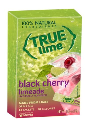 True Lime: Black Cherry Limeade (10 Packets)