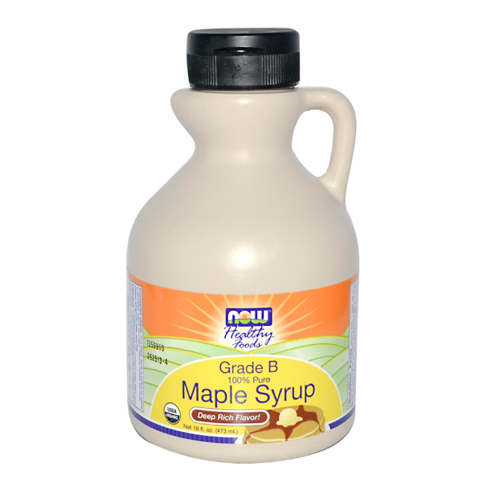NOW Foods Organic Maple Syrup (16 oz)