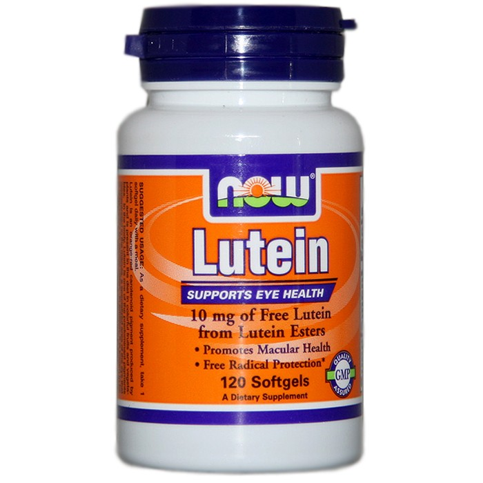 NOW Foods Lutein Esters 10 mg (120 Softgels)