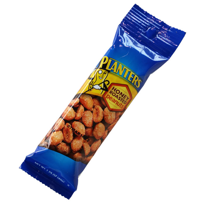 Planters Honey Roasted Peanuts (1.75 oz, 49g)