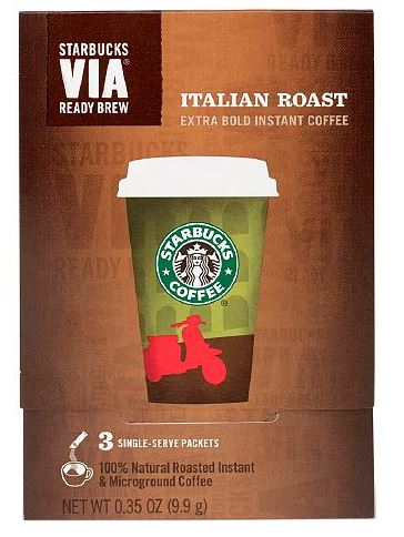 Starbucks VIA Ready Brew - Italian Roast (3 sticks)