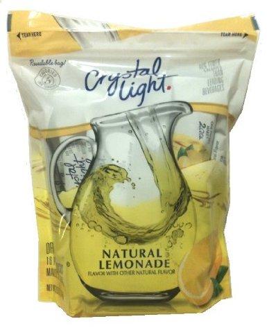 Crystal Light Natural Lemonade Drink Mix: Pitcher Packs (16 Packs)