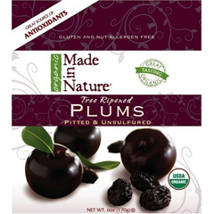 Made In Nature Tree Ripened Plums (6 oz)