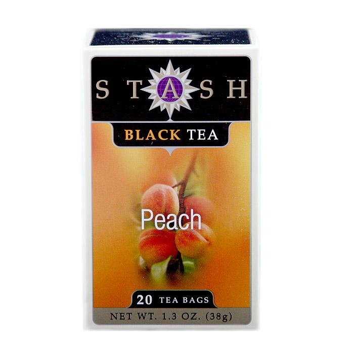 Stash Peach Black Tea (20 Tea Bags)