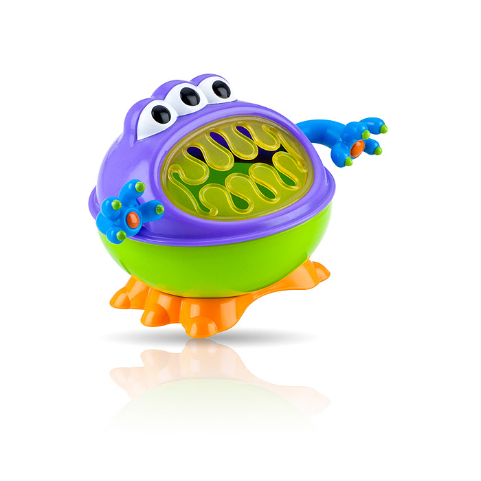 Nuby 3-D Monster Snack Keeper - Colors May Vary
