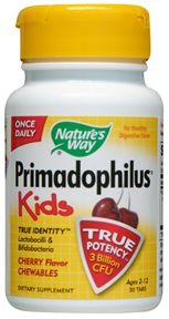 Nature's Way Primadophilus Kids Cherry (30 Chewables)