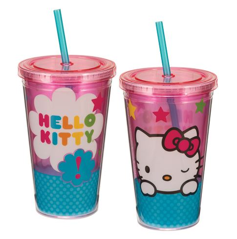 VANDOR Hello Kitty Stars Acrylic Travel Cup (18 oz.)