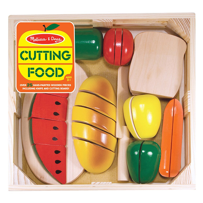 Melissa and Doug CUTTING FOOD (Ages 3+)