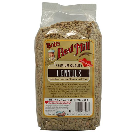 Bob's Red Mill Premium Quality Lentils (27oz.)