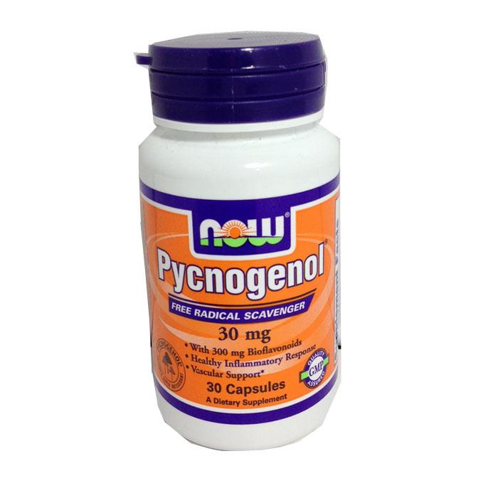 NOW Foods Pycnogenol 30 Mg(30 Capsules)