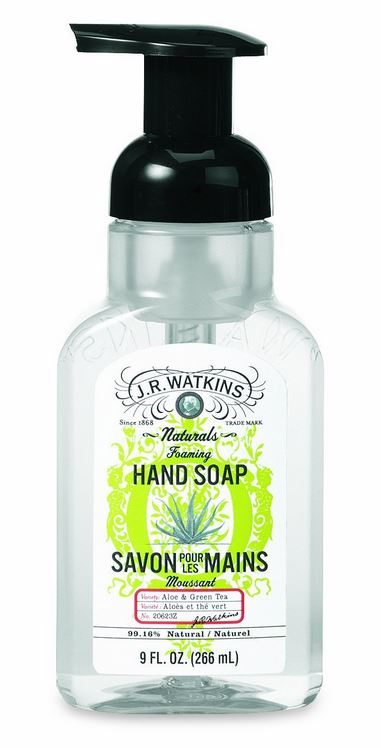 J.R. Watkins Aloe & Green Tea Foaming Hand Soap(9 fl. oz.)