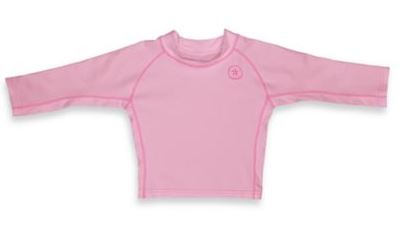 I play UPF 50 Long Sleeve Rashguard Pink (24mo)