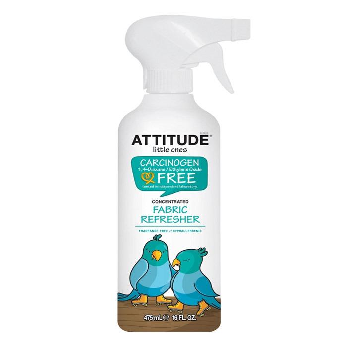 ATTITUDE Fabric Refresher: Little Ones (Fragrance Free) (475 ml, 16 oz)