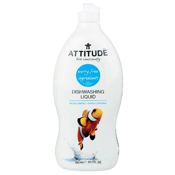 ATTITUDE Dishwashing Liquid: Wild Flowers (700 ml, 23.7 oz)