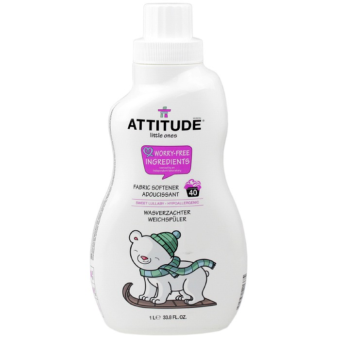 ATTITUDE Little Ones Fabric Softener (Sweet Lullaby, 33.8fl oz.)