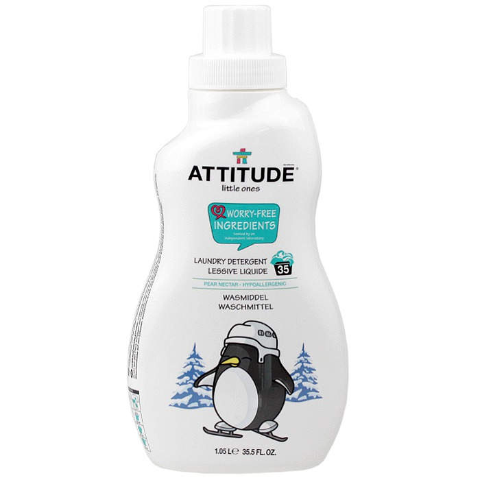ATTITUDE Little Ones Laundry Detergent (Pear Nectar, 35.5fl. oz)