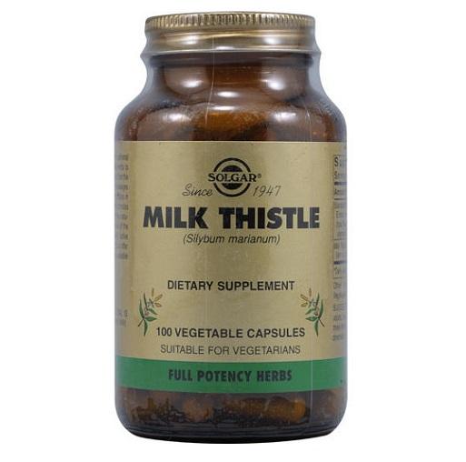 Solgar Milk Thistle (100 Vcaps)