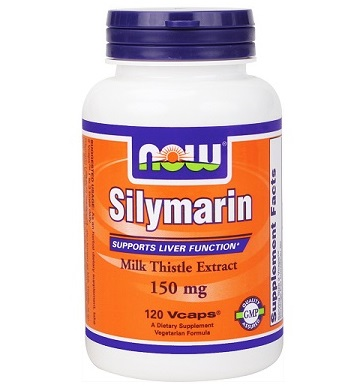 NOW Foods Silymarin Milk Thistle 150 mg (120 Vcaps)