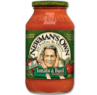 NEWMAN'S OWN Tomato & Basil BOMBOLINA Pasta Sauce NET WT. 24 OZ. (680g)