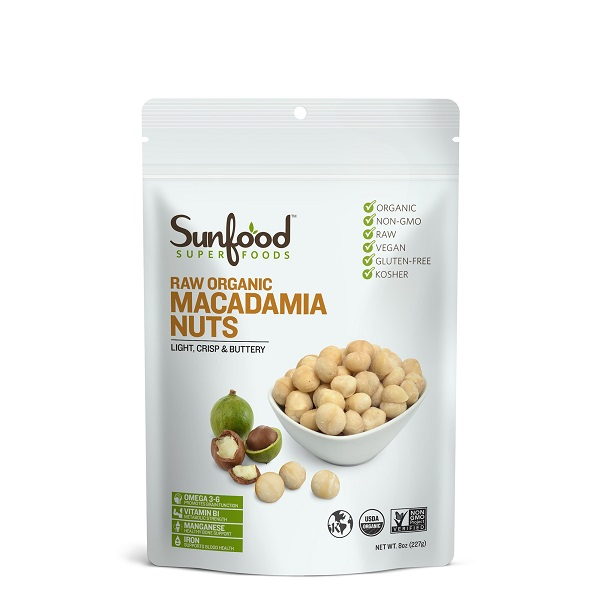 Sunfood Raw Organic Macadamia Nuts