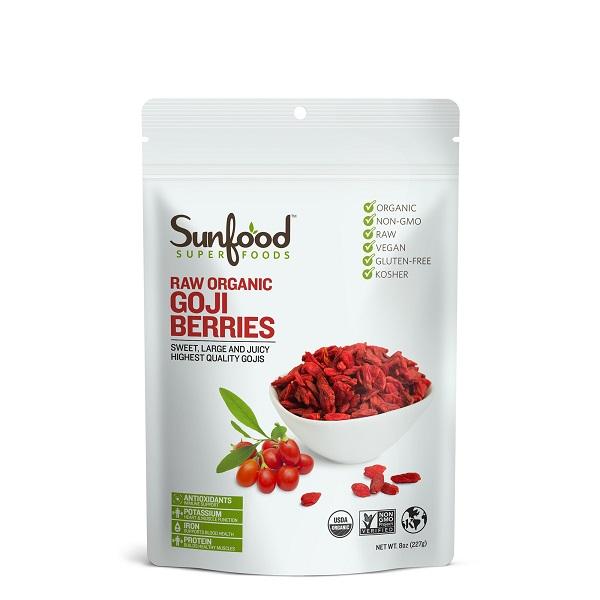 Sunfood Raw Organic Goji Berries