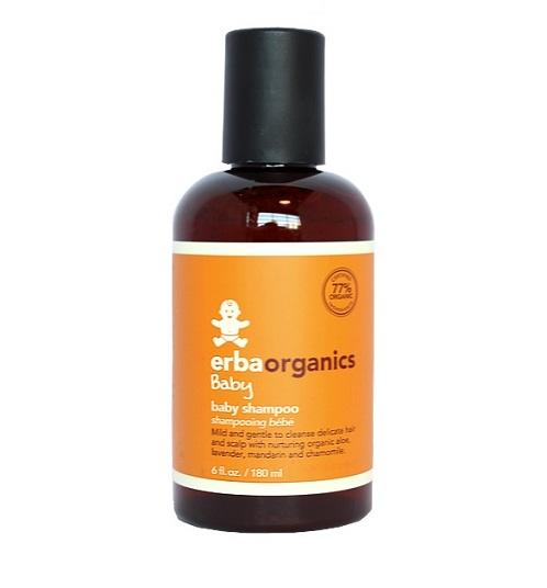 ErbaOrganics Baby Shampoo (6 oz.)