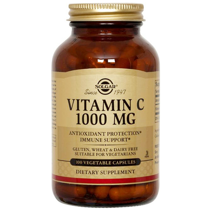 Solgar Vitamin C 1000mg, 250 V Caps