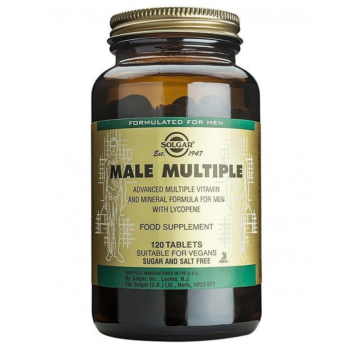 Solgar Male Multiple, 120 Tabs