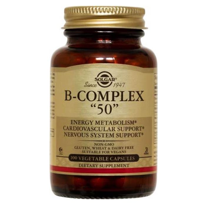 Solgar B-complex 50,100caps