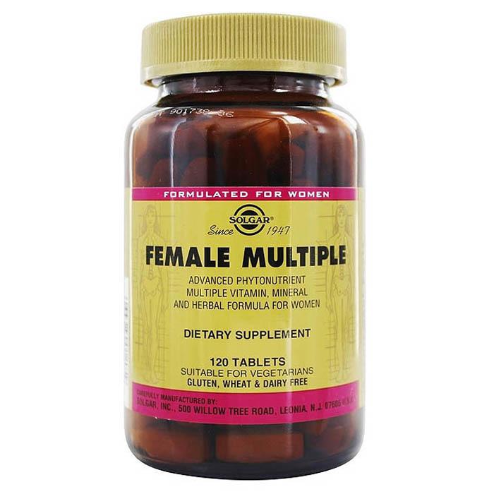 Solgar Female Multiple, 120 tabs