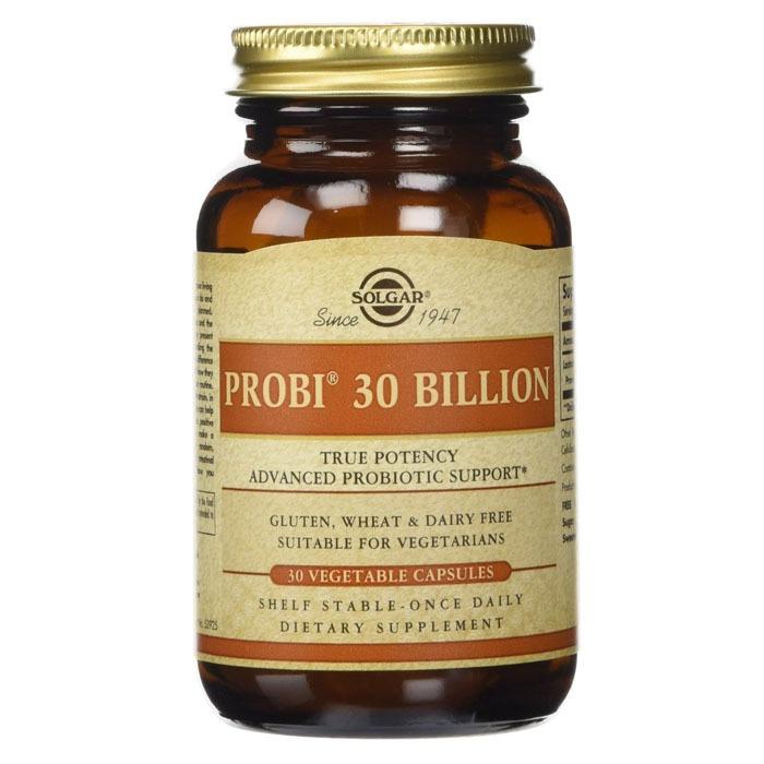 Solgar Probi 30 Billion, 30 Vcaps