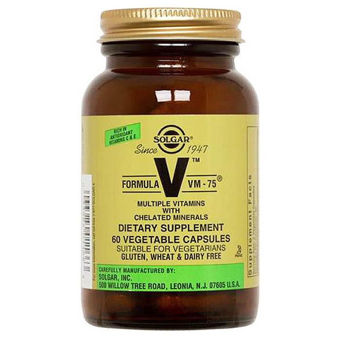 Solgar Formula VM-75, 120 veg capsules