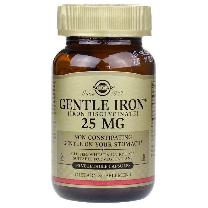 Solgar Gentle Iron Vegetable (90 Capsules)