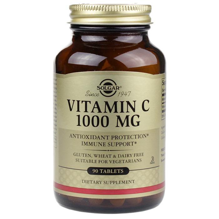 Solgar Vitamin C(1000 MG, 90 Tablets)