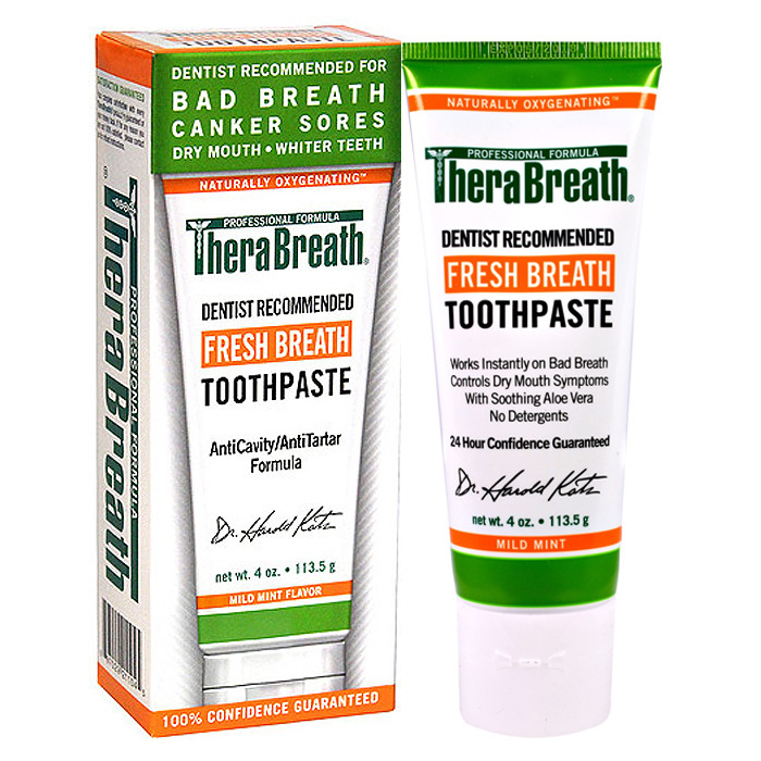 TheraBreath Fresh Breath Paste, 4 oz