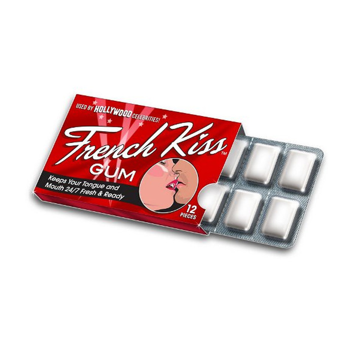 TheraBreath French Kiss Gum, 12 pieces
