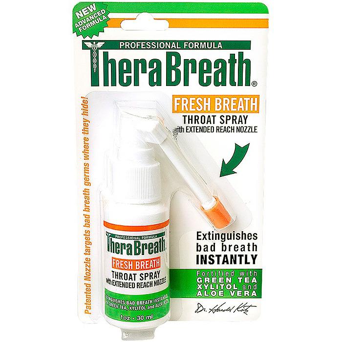 TheraBreath Fresh Breath Throat Spray, 1oz