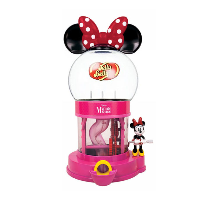Jelly Belly Disney Minnie Mouse Dispenser Machine with Assorted Jelly Beans(1 oz)