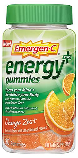 Emergen-C Energy+, 30 Gummies