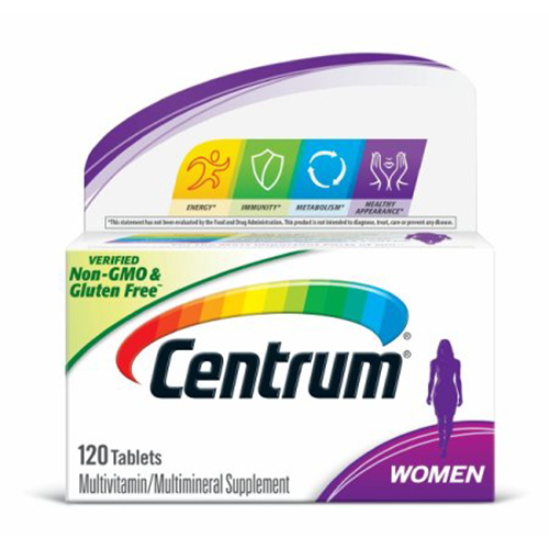 Centrum Multivitamin Women (120 tablets)