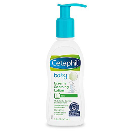 Cetaphil Baby Eczema Soothing Lotion, 5 oz